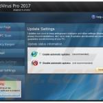 AntiVirus Pro 2017 valse updates