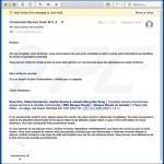 Misleidende email die kwaadaardige Microsoft Office document verspreid (vb 3)