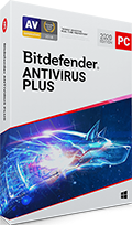 Bitdefender Antivirus Plus 2020 box