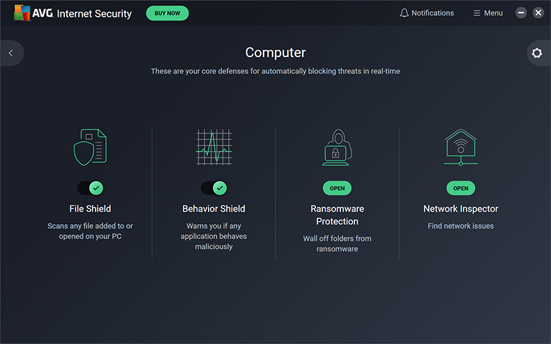 AVG Internet Security - Computer