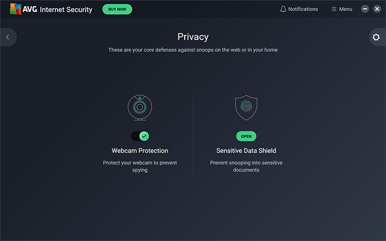 AVG Internet Security - Privacy