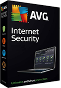 Doos van AVG Internet Security