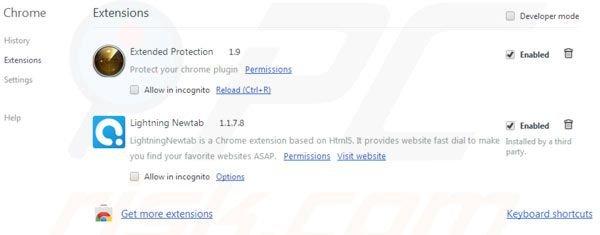 klik op het chrome menu icoon rechterbovenhoek van google chrome