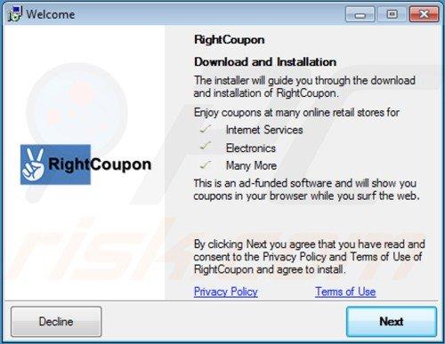 Flash coupon virus verwijderen