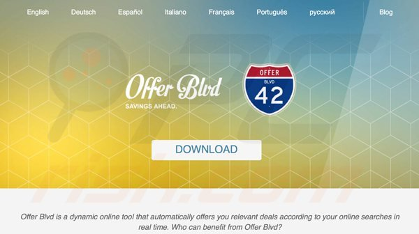 offer boulevard adware