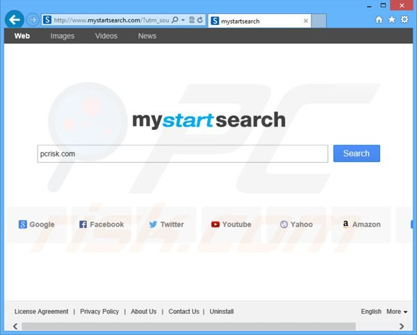 mystartsearch.com browser hijacker
