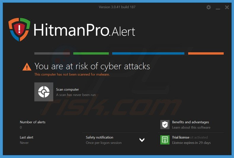 hitmanproalert ransomware preventie applicatie