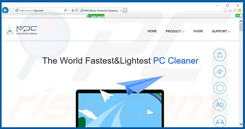 MPC Cleaner adware