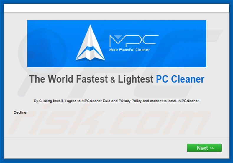 MPC Cleaner bundelt de software installer