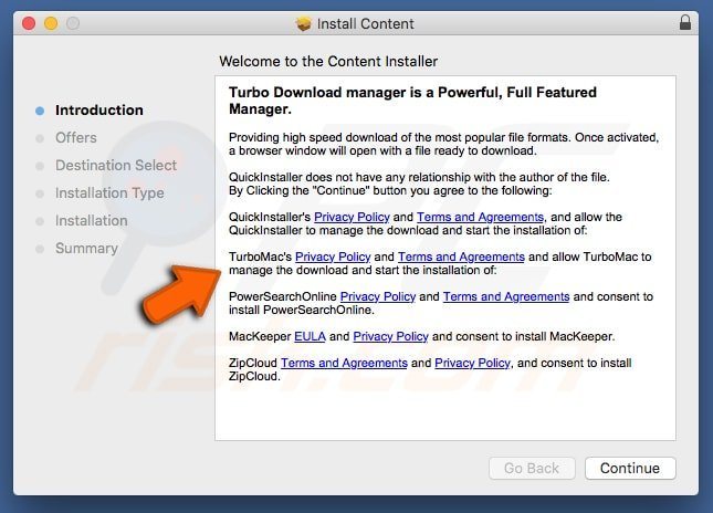 turbomac adware installer