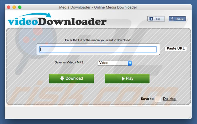 MediaDownloader (videoDownloader) applicatie