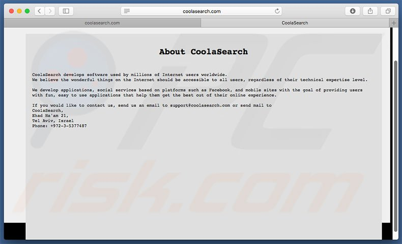 coolasearch.com informatie