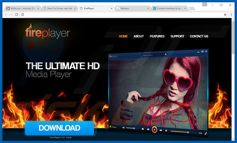 FirePlayer adware