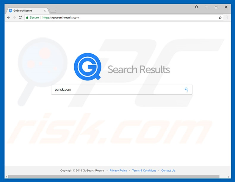gosearchresults.com browser hijacker