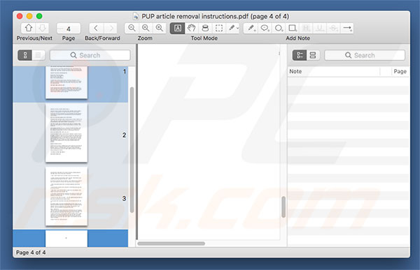 PDF Mac Master applicatie