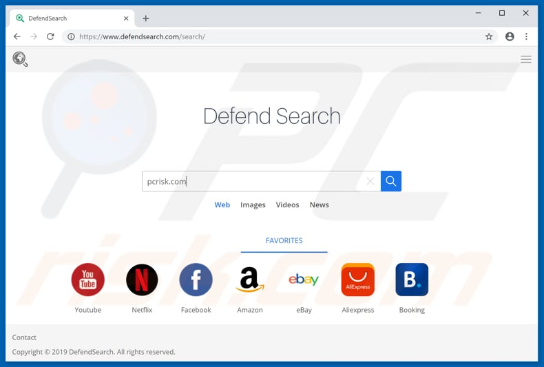 defendsearch.com browserkaper