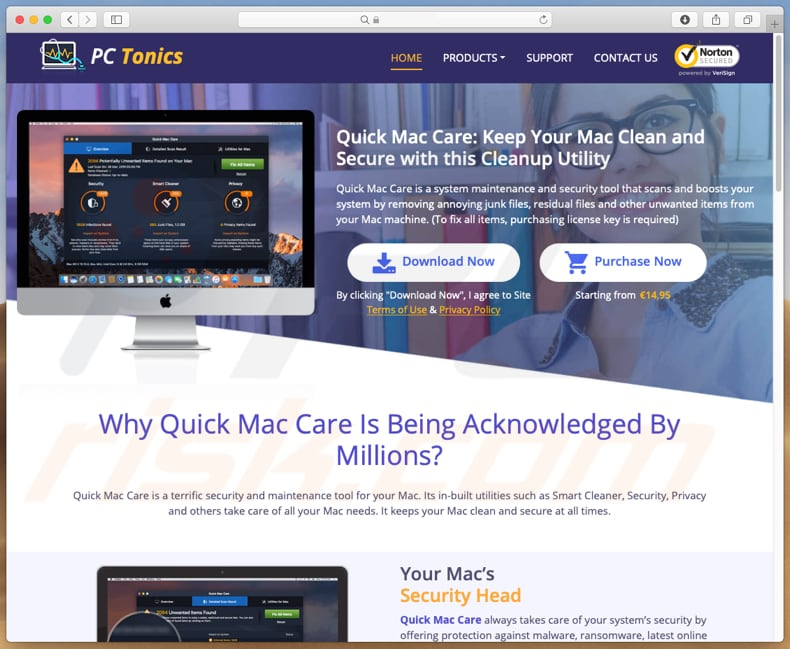 website promoot Quick Mac Care