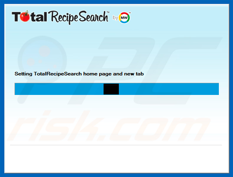 Official TotalRecipeSearch browserkaper installatie setup