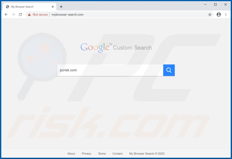 mybrowser-search.com browser hijacker